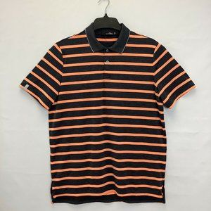 RLX Ralph Lauren Golf Shirt Mens Size L Stripes